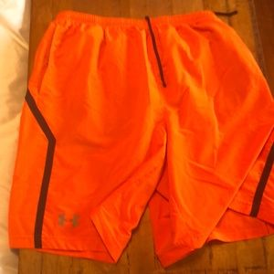 Orange ua shorts